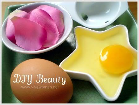 DIY Egg Mask