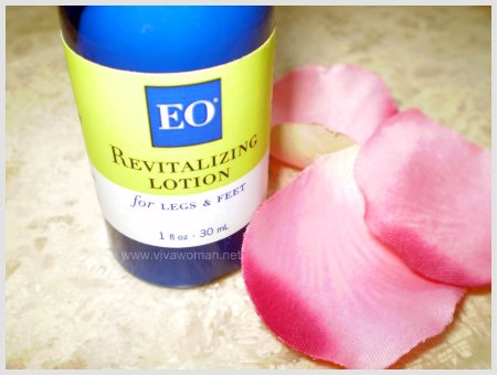 EO Revitalizing Lotion for legs & feet