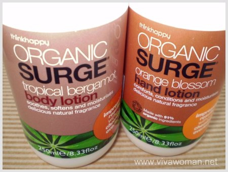 Organic Surge Body & Hand Lotion