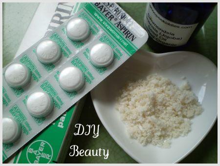 aspirin sugar scrub