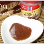 DIY Beauty: nutmeg spice to erase acne scars