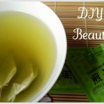 DIY Beauty:  green tea facial wash and toner