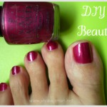 DIY Beauty: mixing a new nail polish color