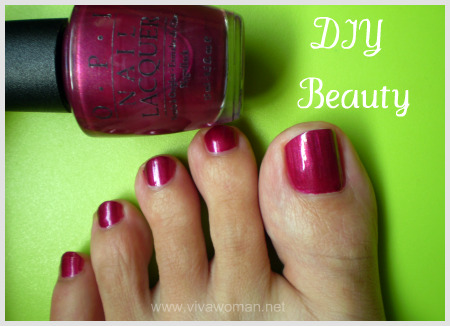 DIY nail polish color