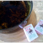DIY Beauty: homemade tea facial steam