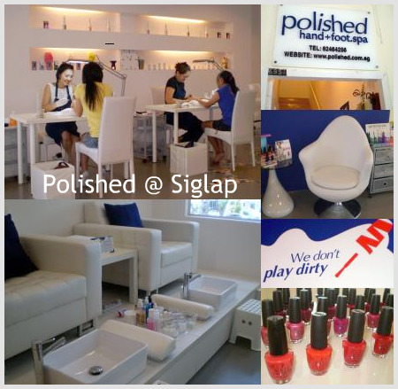 Polished Hand Foot Spa