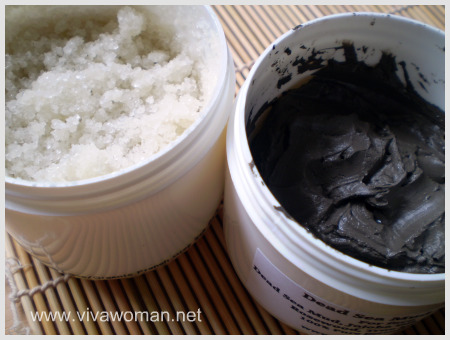 dead sea mud & dead sea salt