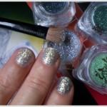 DIY Beauty: glitter express manicure