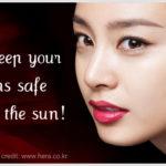 Viva Challenge: sunscreen around your lips