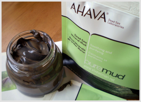 Ahava pure dead sea mud
