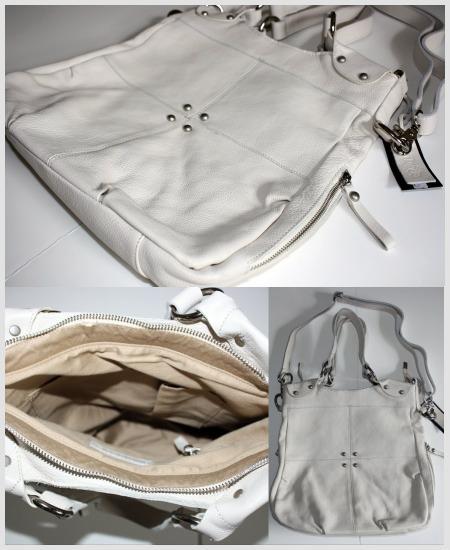 Light beige leather bag