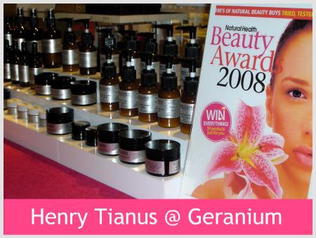 Henry Tianus @ Geranium