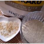 DIY Beauty: grounded rice body scrub