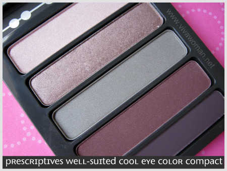 Prescriptives Well Suited Eye Color Compact