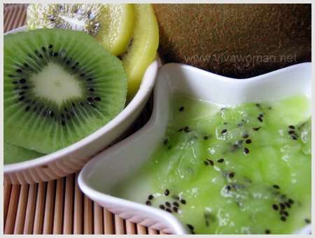 kiwi fruit cleanser
