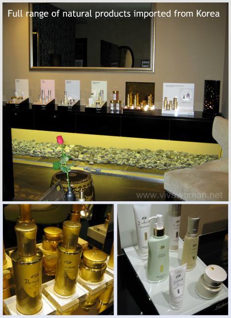 Korean natural skin care products