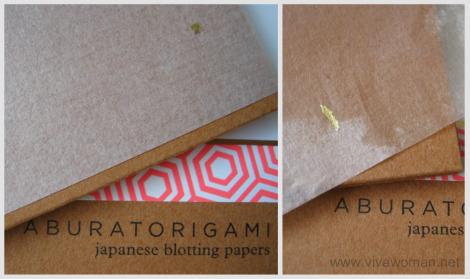 Japanese Aburatorigami Blotting Paper