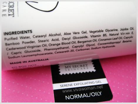 Ingredient List
