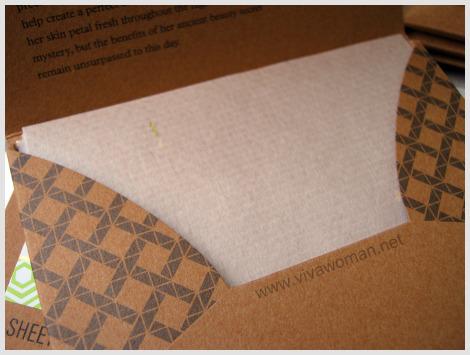 Japanese Handmade Aburatorigami Blotting Paper