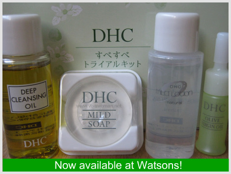 DHC Olive Essentials Set