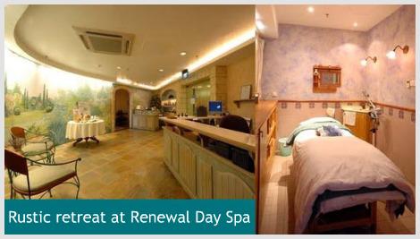 A relaxing organic facial at Renewal Day Spa