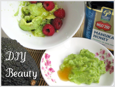 avocado homemade beauty recipe