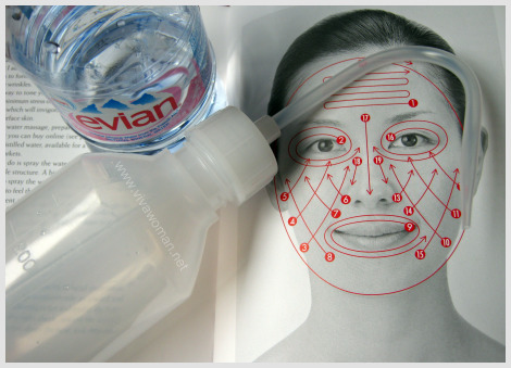 facial water massage