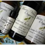 Marie-Veronique Organics sun protection range