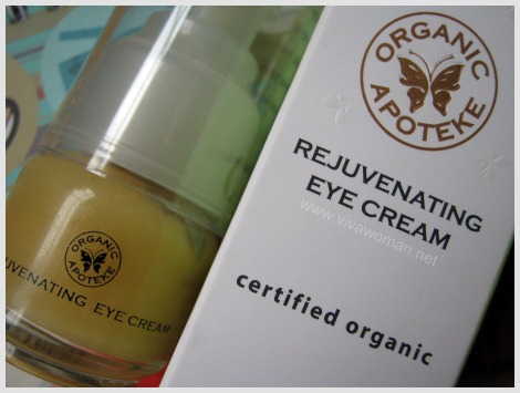 Organic Apoteke Rejuvenating Eye Cream