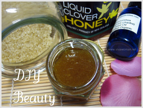 brown sugar honey hand scrub