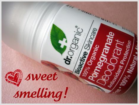 Dr Organic Pomegranate Deodorant & Lip Balm