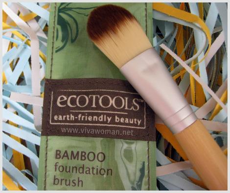 Review: EcoTools Bamboo Foundation Brush