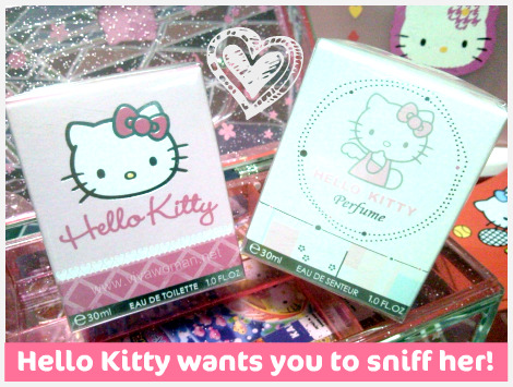 Guest review:Hello Kitty perfumes & a giveaway