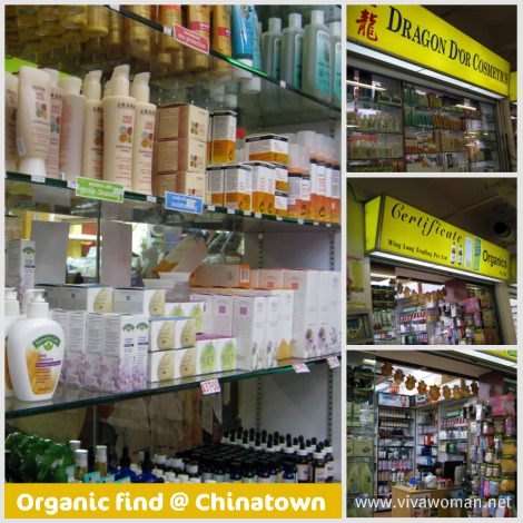 Natural & organic nook at Chinatown