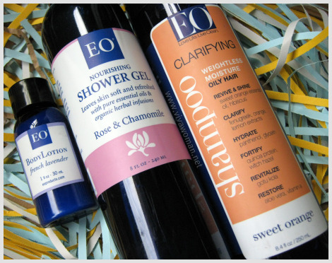 EO shower gel clarifying shampoo Review: EO Clarifying Shampoo & Shower Gel