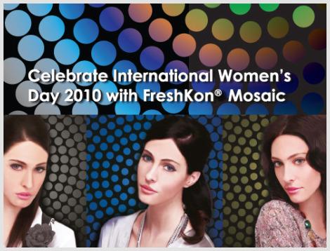 Be a FreshKon Mosaic Muse & win $1000