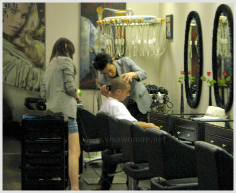 Would you go to a neighbourhood hair salon?