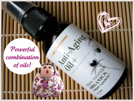 Marie Veronique Organics Anti-Aging Oil Plus