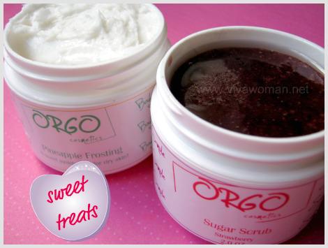 Handmade body treats from Orgo Cosmetics