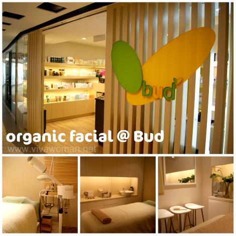 Organic facial at Bud in Mandarin Gallery