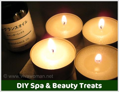 DIY Beauty: chill out spa & beauty treats