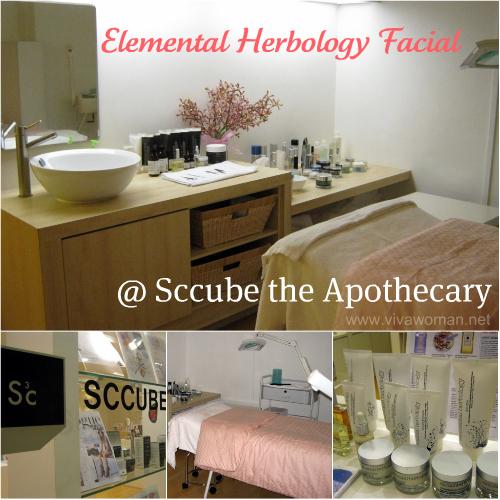 Pampering Elemental Herbology Facial @ Sccube