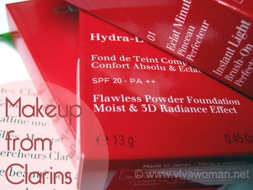 Clarins Hydra-Luminous Powder Foundation