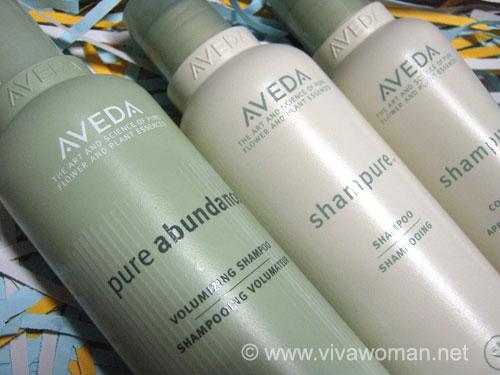 Aveda: high performance premium hair care range