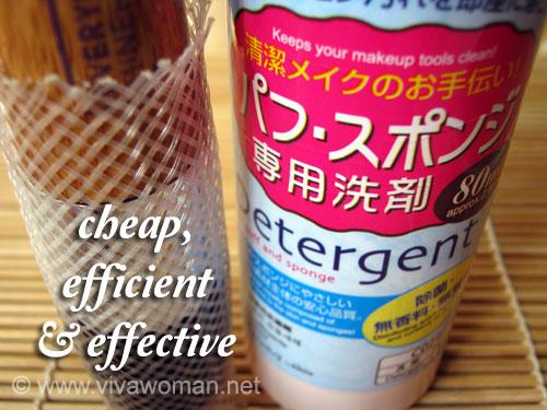 Diaso makeup tool detergent