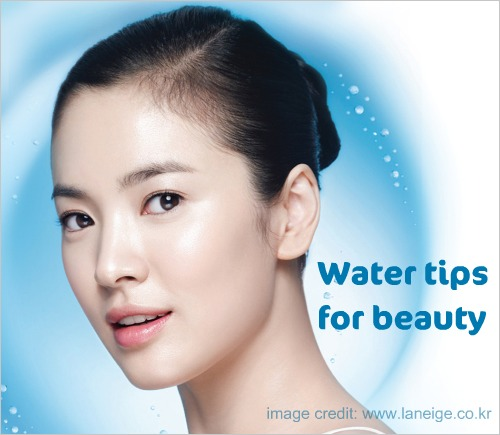 16 quick tips about using water for beauty