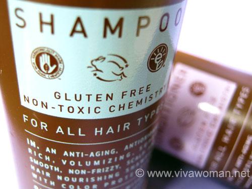 gluten-free shampoo
