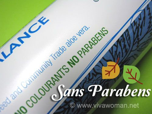 Are you paraben conscious about your products?