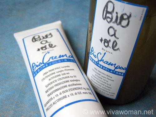 Bio a+o.e. sebum regulating hair care products