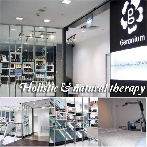 Holistic healing Gua Sha face therapy at Geranium